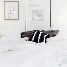 Фотография: Спальня в стиле Скандинавский, Интерьер комнат, Цвет в интерьере, Советы – фото на InMyRoom.ru