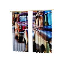 Оригинальные фотошторы: Разноцветные авто