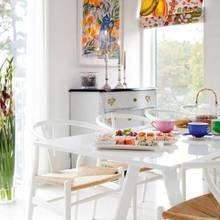 Фотография: Кухня и столовая в стиле Скандинавский, Дом, Цвет в интерьере, Дома и квартиры, Белый – фото на InMyRoom.ru