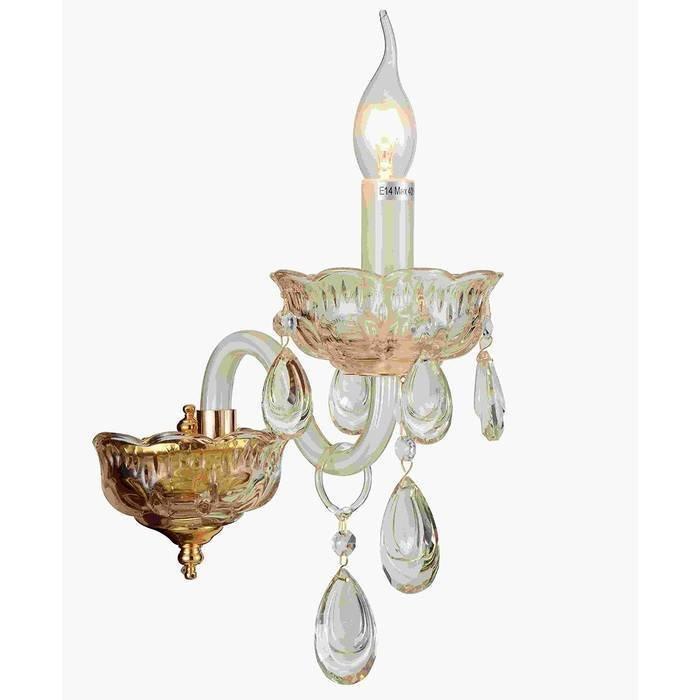 Бра ST Luce выполнен в виде свечи с подсвечником
