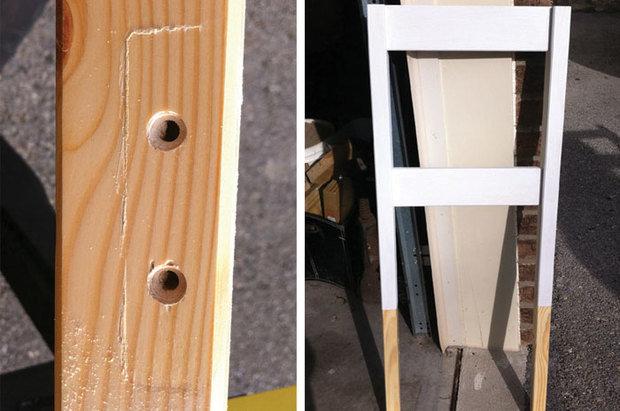 Фотография:  в стиле , Прихожая, DIY, Мебель и свет – фото на InMyRoom.ru