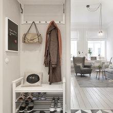 Фотография: Прихожая в стиле Скандинавский, Квартира, Дома и квартиры, Проект недели – фото на InMyRoom.ru