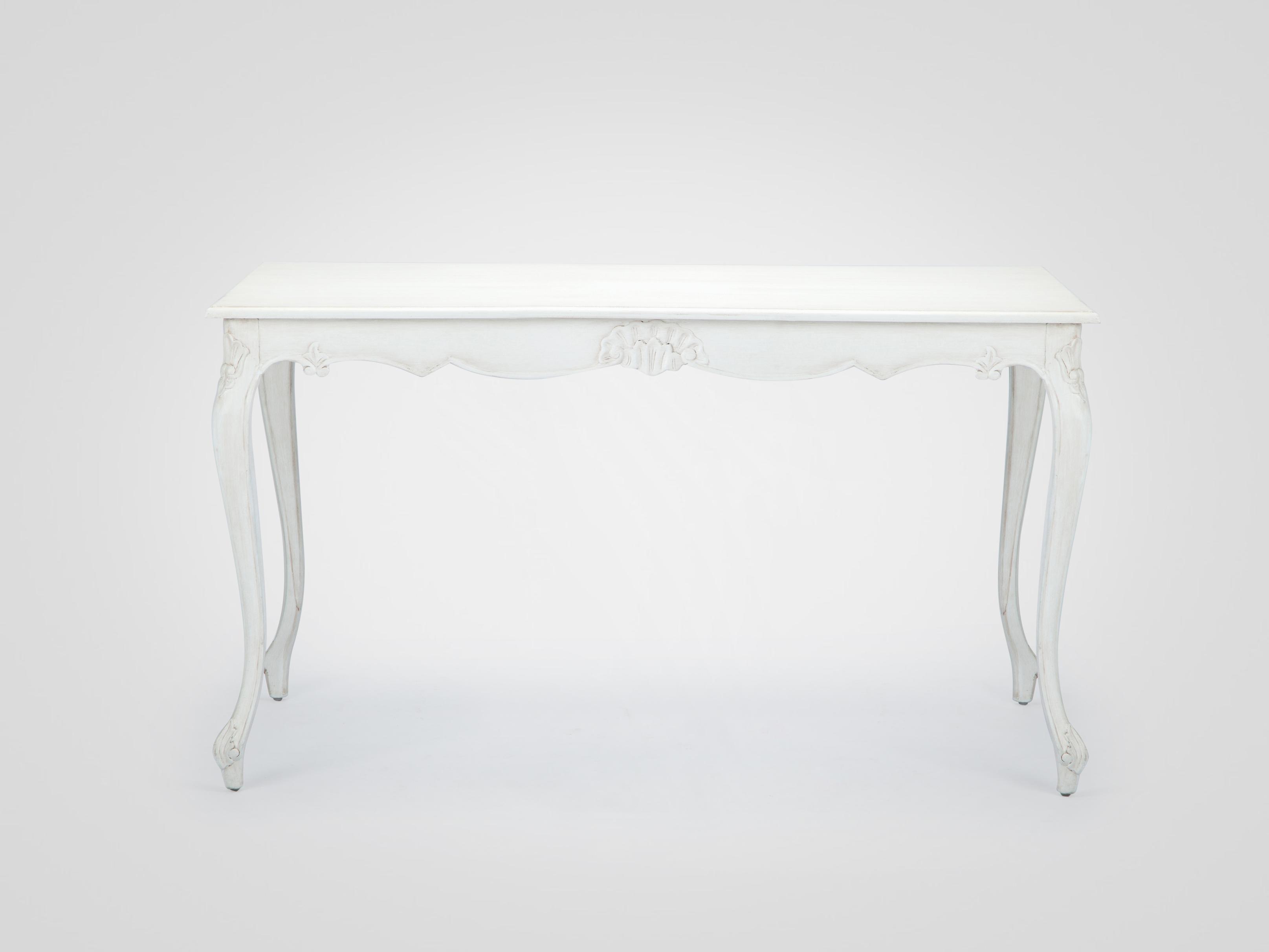 Купить Прямоугольный стол «августин» из натурального дерева с резьбой и патиной, inmyroom, Индонезия