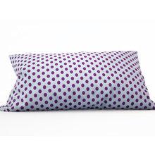 Декоративная подушка: Сиреневые горошки