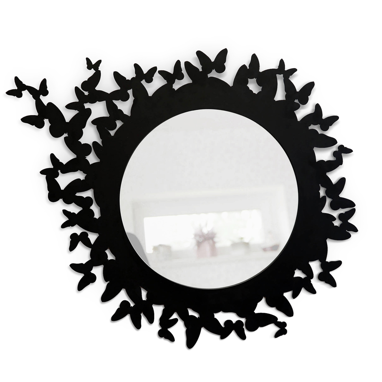 Настенное зеркало Butterfly Black
