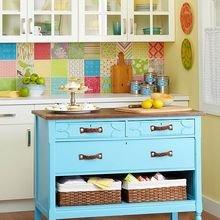 Фотография: Кухня и столовая в стиле Кантри, Декор интерьера, Текстиль, Декор, Декор дома, Пэчворк – фото на InMyRoom.ru