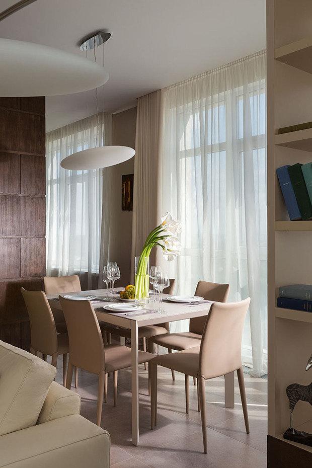 Фотография: Кухня и столовая в стиле Современный, Эко, Классический, Квартира, Проект недели – фото на InMyRoom.ru