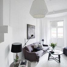 Фото из портфолио Скандинавский минимализм в чёрно-белой гамме – фотографии дизайна интерьеров на InMyRoom.ru