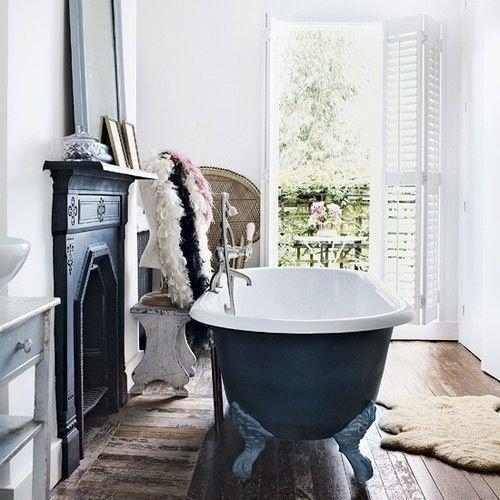 Фотография: Ванная в стиле Скандинавский, Декор интерьера, Интерьер комнат, Викторианский – фото на InMyRoom.ru