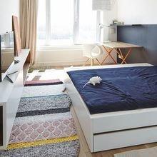 Фотография: Спальня в стиле Скандинавский, Квартира, Дом, Планировки, Советы, Ремонт на практике – фото на InMyRoom.ru