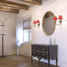 Фото из портфолио Дизайн интерьера квартиры на мансарде в Вентспилсе – фотографии дизайна интерьеров на INMYROOM