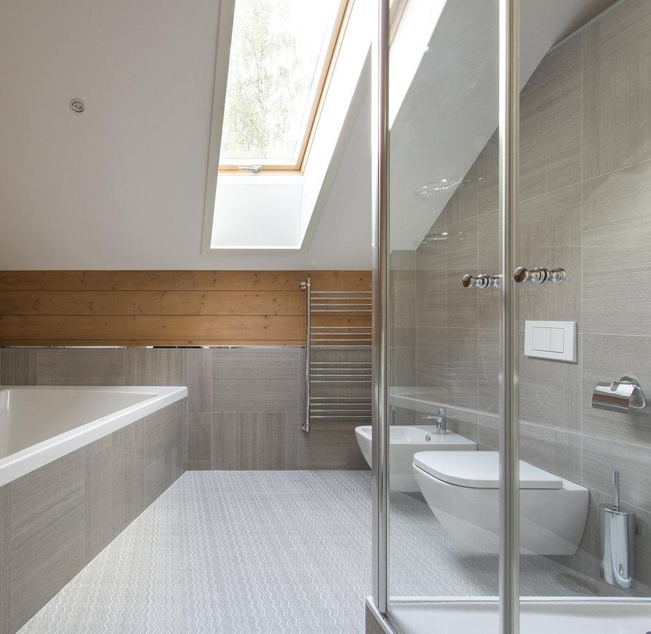Фотография: Ванная в стиле Современный, Дом, 4 и больше, Более 90 метров, Студия TS Design, #эксклюзивныепроекты – фото на InMyRoom.ru