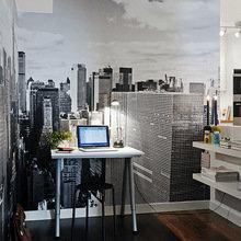 Фотография: Офис в стиле Современный, Скандинавский, Декор интерьера, Квартира, Дома и квартиры, Ремонт – фото на InMyRoom.ru