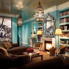 Фотография: Гостиная в стиле Классический, Современный, Восточный – фото на InMyRoom.ru