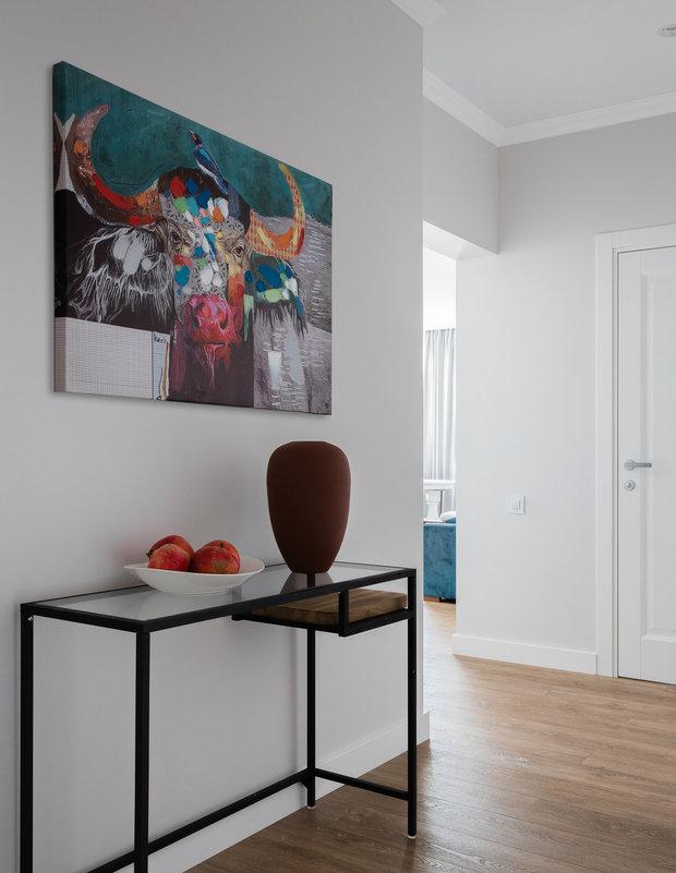 Фотография: Прихожая в стиле Современный, Квартира, Проект недели, Челябинск, 3 комнаты, Более 90 метров, Анна Важенина – фото на INMYROOM