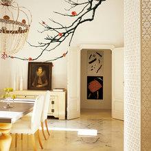 Фотография: Кухня и столовая в стиле Кантри, Эклектика, Декор интерьера, Декор дома, Обои, Стены – фото на InMyRoom.ru