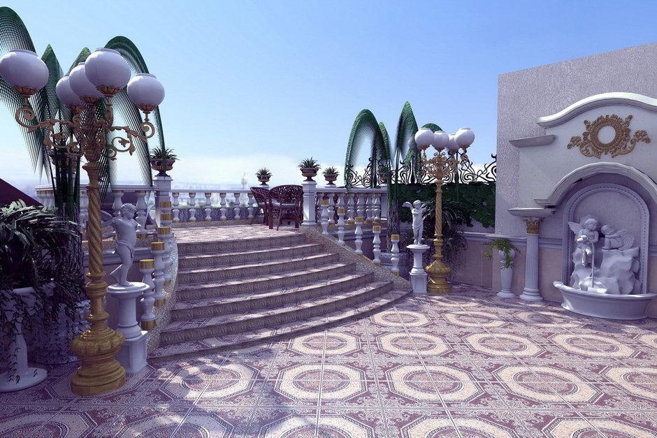 Фотография: Ландшафт в стиле Современный, Эклектика, Квартира, Дома и квартиры – фото на InMyRoom.ru