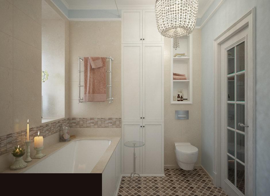 Фотография: Ванная в стиле Классический, Квартира, Проект недели, Санкт-Петербург, Светлана Гаврилова – фото на InMyRoom.ru