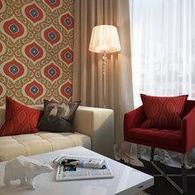 Фото из портфолио Дизайн однокомнатной квартиры для молодой семейной пары – фотографии дизайна интерьеров на INMYROOM