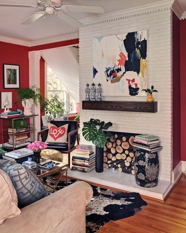 Фотография: Декор в стиле Современный, Эклектика, Декор интерьера, DIY, Текстиль – фото на InMyRoom.ru