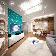 Фото из портфолио Однокомнатная квартира в жилом комплексе «Борисовские пруды» в Москве. – фотографии дизайна интерьеров на INMYROOM