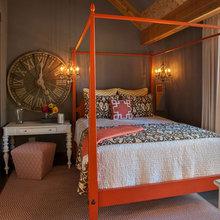 Фотография: Спальня в стиле , Эклектика, Дом, Дома и квартиры, Проект недели, Дача – фото на InMyRoom.ru