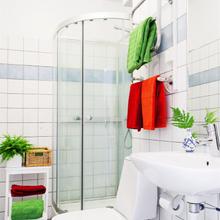Фотография: Ванная в стиле Скандинавский, Лофт, Малогабаритная квартира, Квартира, Дома и квартиры – фото на InMyRoom.ru