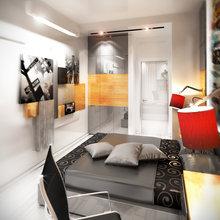 Фото из портфолио Двухкомнатная квартира в жилом комплексе Ориенталь в Санкт-Петербурге. – фотографии дизайна интерьеров на INMYROOM