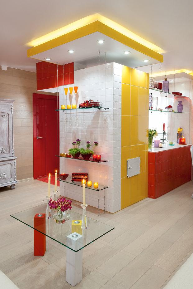 Фотография: Кухня и столовая в стиле Современный, Хай-тек, Дом, Дома и квартиры – фото на InMyRoom.ru