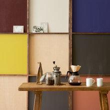 Фотография:  в стиле Лофт, Декор интерьера, Дизайн интерьера, Цвет в интерьере, Бежевый, Dulux – фото на InMyRoom.ru
