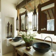 Фотография: Ванная в стиле Кантри, Современный, Дом, Дома и квартиры, Отель – фото на InMyRoom.ru