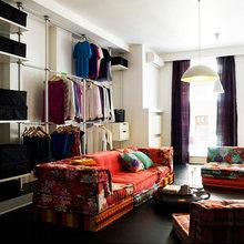 Фотография: Гостиная в стиле Восточный, Квартира, Цвет в интерьере, Дома и квартиры, Белый – фото на InMyRoom.ru