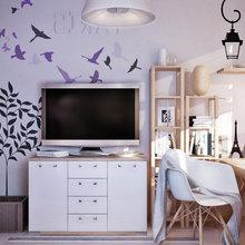 Фотография: Офис в стиле , Декор интерьера, Дизайн интерьера, Мебель и свет, Цвет в интерьере – фото на InMyRoom.ru
