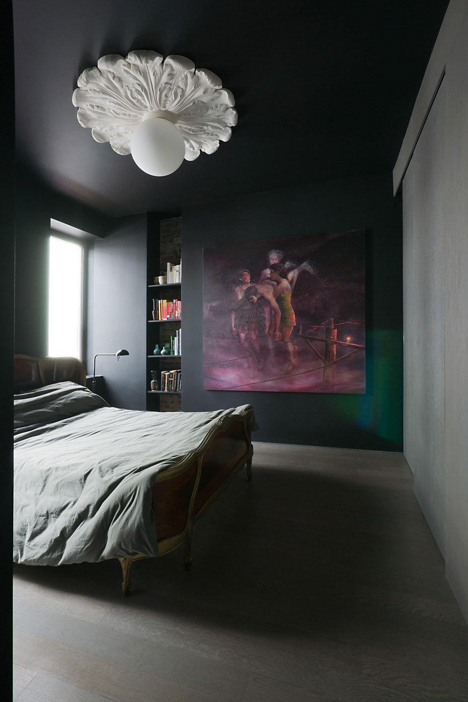 Фотография: Спальня в стиле Классический, Современный, Эклектика, Дом, Дома и квартиры – фото на InMyRoom.ru