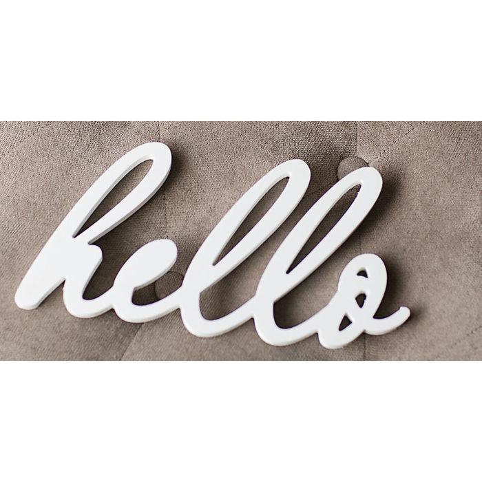 "Надпись ""hello"""