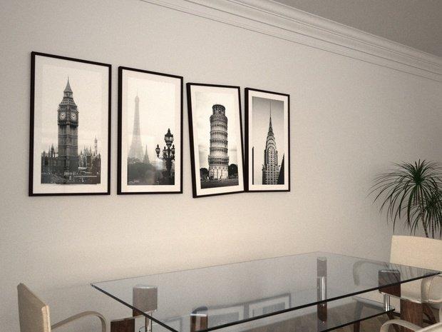Фотография: Декор в стиле Современный, Декор интерьера, Дом, Декор дома, Цвет в интерьере, Белый – фото на InMyRoom.ru