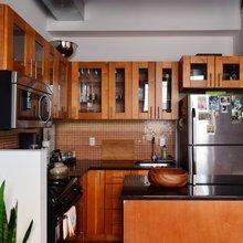 Фото из портфолио Возвышенная, небольшая студия в Бруклине – фотографии дизайна интерьеров на INMYROOM