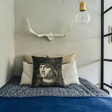 Фотография: Спальня в стиле Скандинавский, Декор интерьера, Малогабаритная квартира, Квартира – фото на InMyRoom.ru
