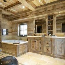 Фотография: Ванная в стиле Кантри, Декор интерьера, Дом, Декор, Особняк, Шале – фото на InMyRoom.ru