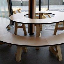 Фото из портфолио Мебель для ресторанов и кафе – фотографии дизайна интерьеров на INMYROOM