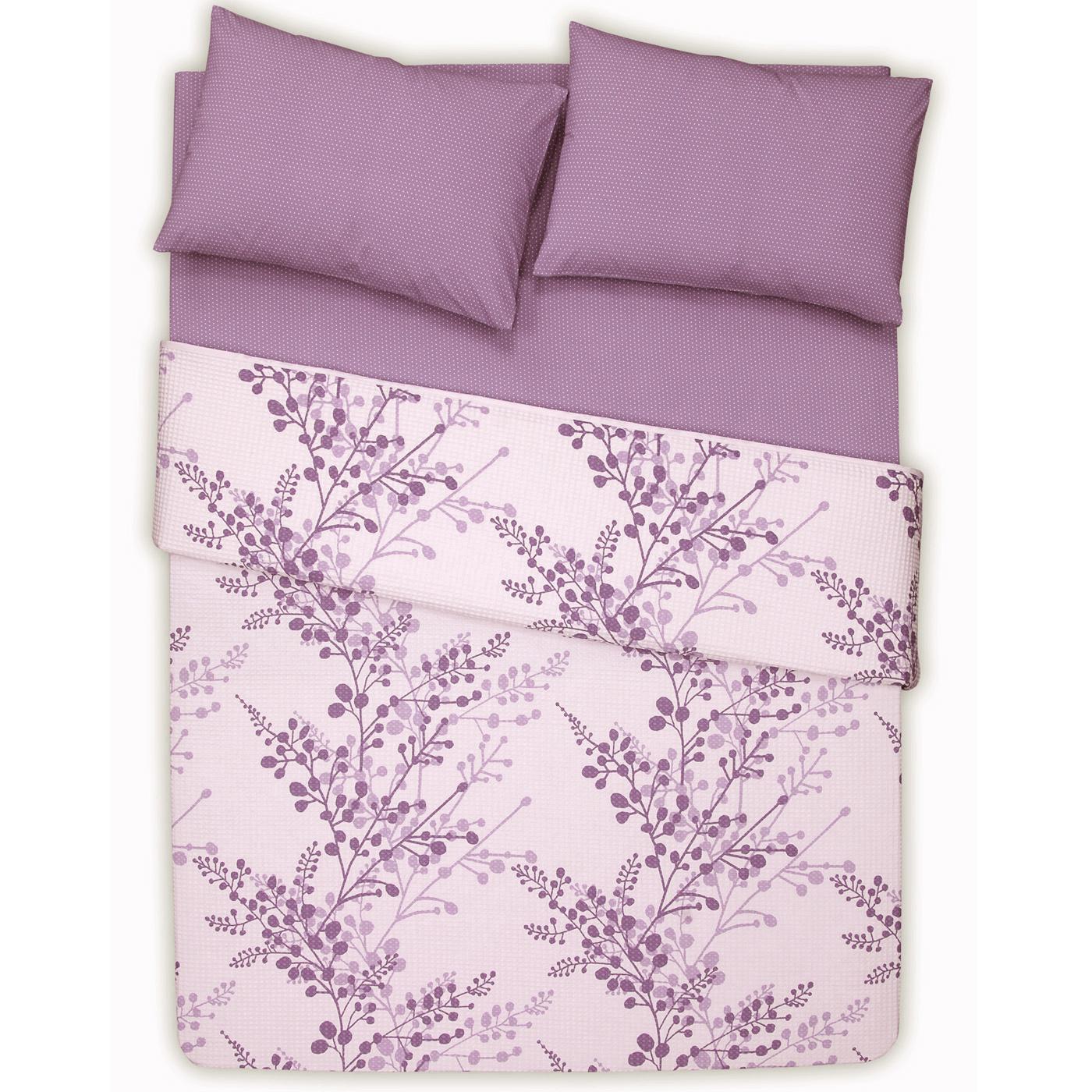 Купить Комплект постельного белья Twings Purple Euro, inmyroom, Турция