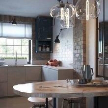 Фотография: Кухня и столовая в стиле Лофт, Декор интерьера, Малогабаритная квартира, Квартира, Планировки, Декор – фото на InMyRoom.ru