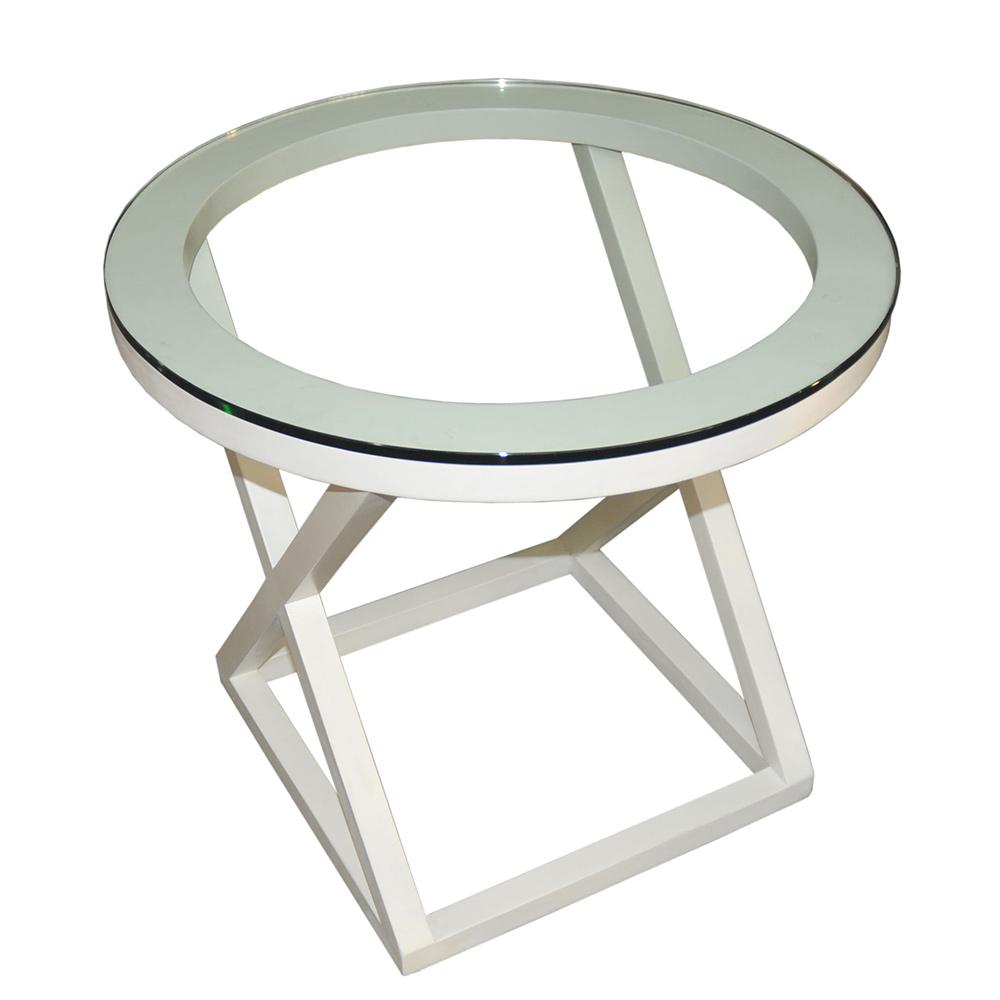 Журнальный столик Van Roonиз Moretti белого цвета
