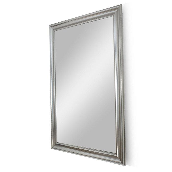 """Зеркало в раме из испанского дерева """"Серебряный Веласкес"""""""