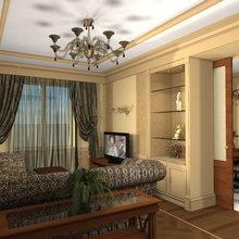 Фото из портфолио Квартира 140 кв. метров в неоклассике – фотографии дизайна интерьеров на InMyRoom.ru