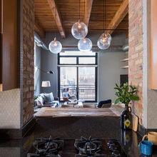 Фото из портфолио Промышленный чердак в Чикаго – фотографии дизайна интерьеров на InMyRoom.ru