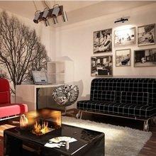 Фотография: Гостиная в стиле Эклектика, Малогабаритная квартира, Квартира, Дома и квартиры, Мебель-трансформер – фото на InMyRoom.ru