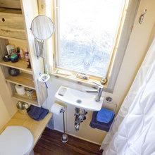 Фотография: Ванная в стиле , Дом, Дома и квартиры, Эко, Дом на колесах – фото на InMyRoom.ru