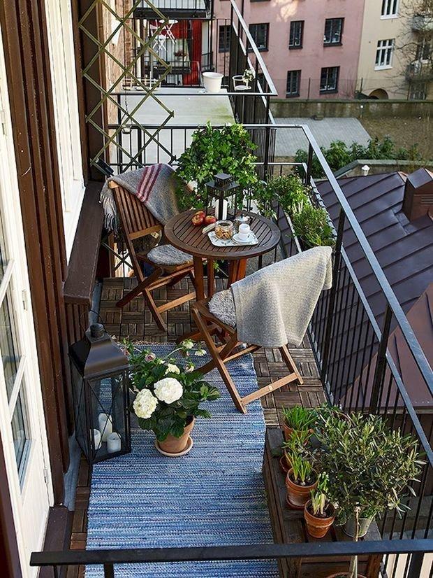 Фотография: Балкон в стиле Скандинавский, Советы, балкон в квартире – фото на INMYROOM