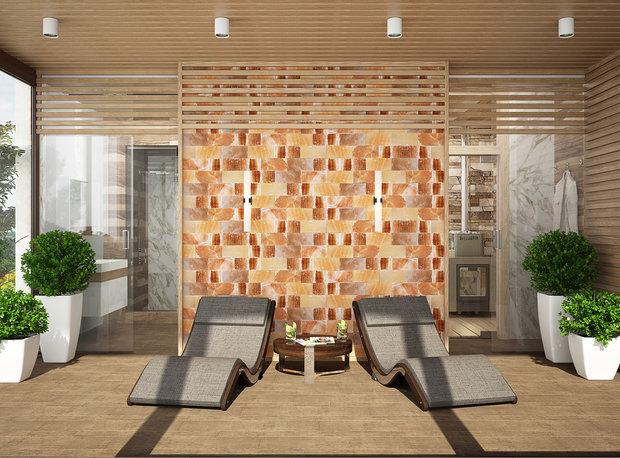 """Фото из портфолио Баня """"Tropici"""" – фотографии дизайна интерьеров на INMYROOM"""